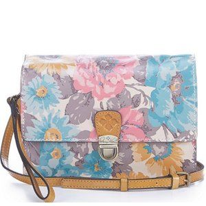 Patricia Nash First Bloom Lanza Crossbody Purse